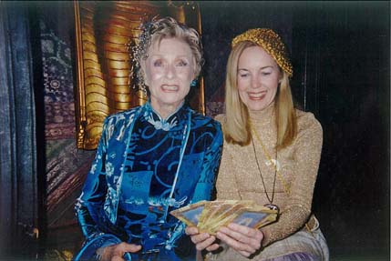 Academy Awards Party Judy reads Oscar winner Cloris Leachman
