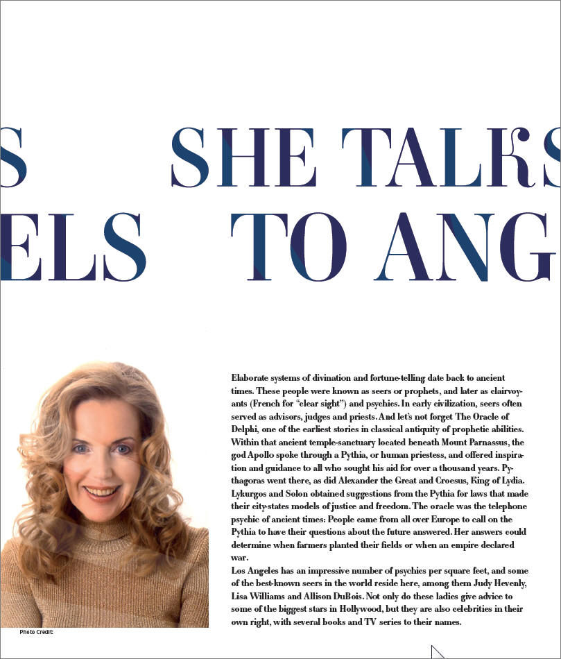 Judy Hevenly, She Talks To Angels